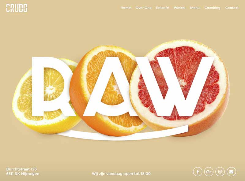 10 Inspirational Restaurant Website Designs